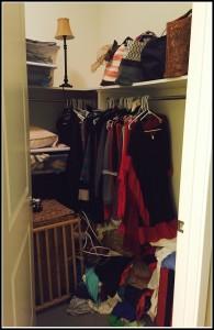 Lindsay before closet